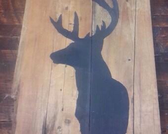 Table head of deer