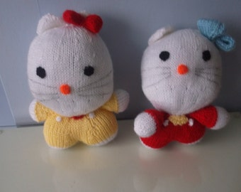 Handmade Knitted Hello Kitty