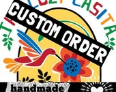 Custom Large 9-Tile Tray