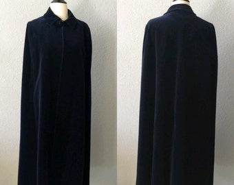 Vintage Velvet House of Fraser Cloak/Cape