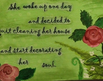 Decorated her Soul Wall or Door decor