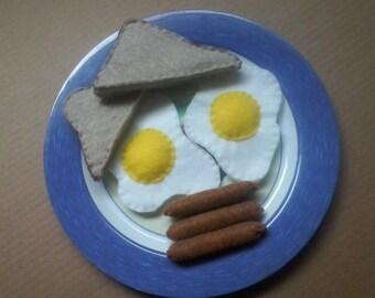 Felt Breakfast Set