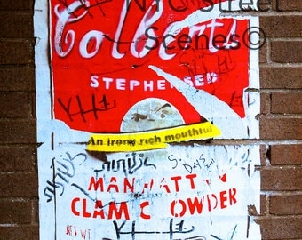 NYC Graffiti - Colbert Coffee Can - New York Street Art©