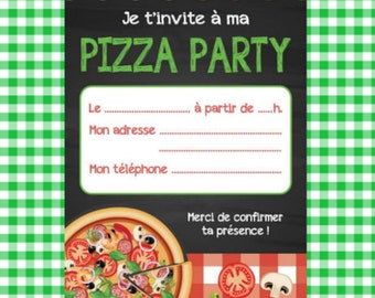 Pizza party card to download IMMEDIATELY