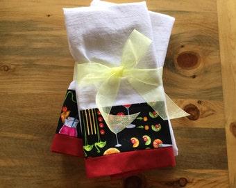 Flour Sack Dish Towel Set