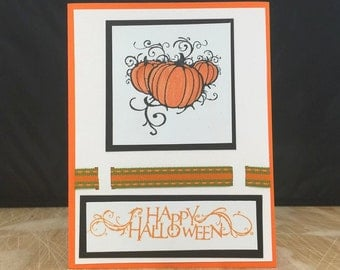 Blank Halloween Greeting Card