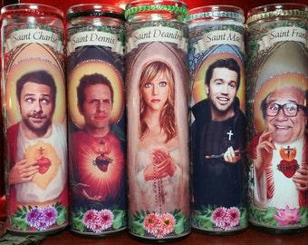 Kaitlin, Danny, Glenn, Charlie and Rob  -set of 5 Church Window frame