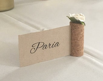 Surprising Wine Corks As Place Card Holders Ideas