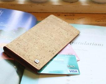 Cork Long Wallet