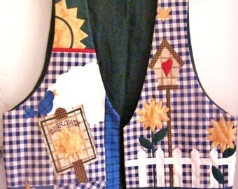 Handmade Vest for Spring/Summer------Handmade Multi-Colored --Cute