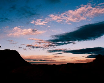 Santa Fe Sunset  - 35mm Film Photography Print