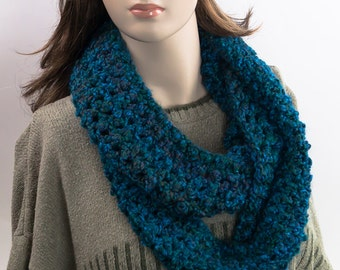Double wrap crochet high quality scarf for men and women
