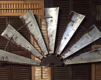 """47"""" half vintage style windmill"""