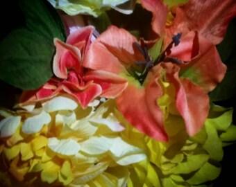 Four (4) Flower pens