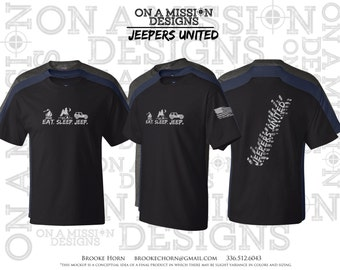 Jeepers United Men's Tall Tees