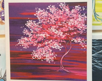 Map: Pink Blossom Tree