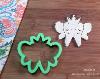 Tooth Fairy Cookie Cutter. Tooth Cookies. Dentist Cookie Cutter. Baking Gifts. Cookie Mold. Fondant Cutter.