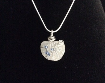 Sea glass pendent