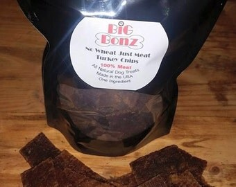 Turkey Chips- All Natural Dog Treats 5 Ounce