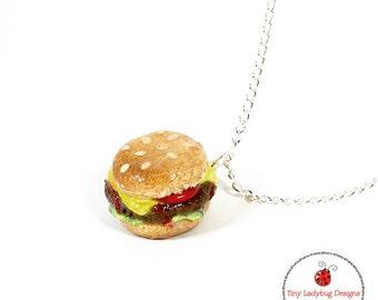 Cheeseburger charm