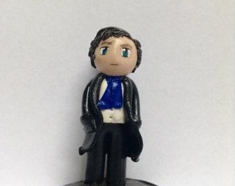Sherlock Holmes Polymer Clay Figurine