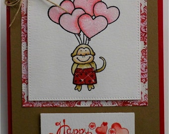 Happy Valentine's Day Greeting Card Free Shipping Available