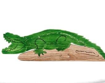 A Smiling Crocodile
