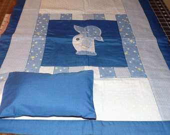 Doll quilt and pillow set