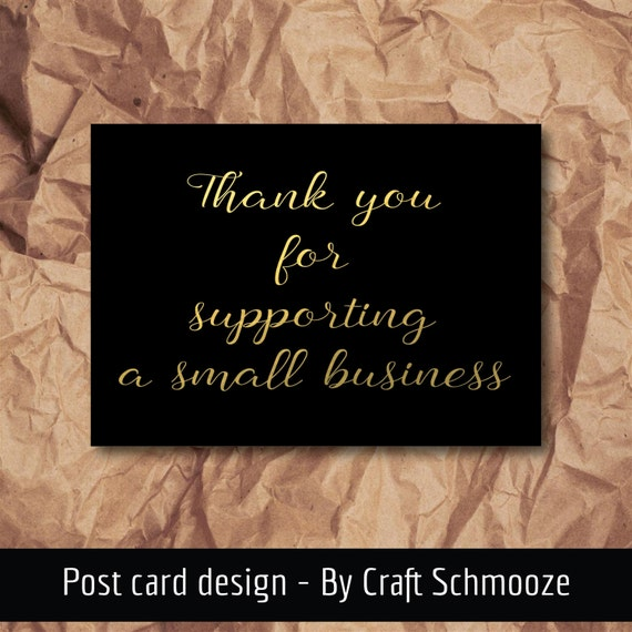 Thank you card, small business, 50 pack,  A6, thank you, business cards, thank you cards, business thank you, etsy packaging, packaging