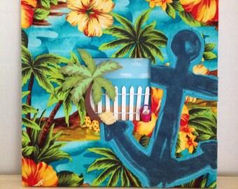 Tropical Island Frame