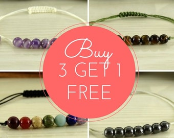 SALE, Buy 3 Get 1 Free, Jewelry Sale, Bracelets Sale, Sale items, Gift Set Bracelets, Family Gift Idea, Mix and Match, Sale jewelry discount