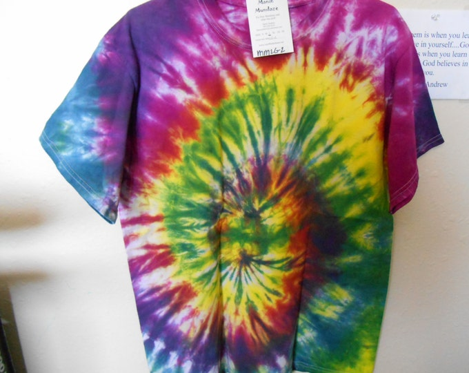 100% cotton Tie Dye T shirt MMLG2 SIZE LARGE