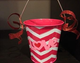 Valentine Gift Pail