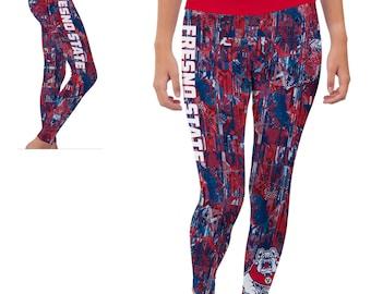 Fresno State Bulldogs Yoga Pants Designs