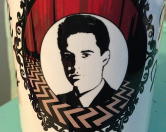 Twin Peaks Agent Cooper 15 oz. dishwasher and microwave safe Coffee Mug