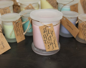 Berry Tangerine Soy Wax Candle