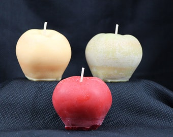 Apple soy candle votive