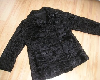 Fur jacket Gr. 42, mint