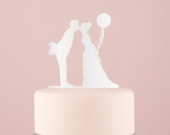 Figure silhouette couple