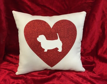 Glen of Imaal Terrier throw pillow.  Great gift for the Glen of Imaal dog lovers!