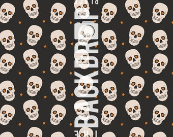 Large Photography Backdrop- Skulls - 5'x5', 5'x6', 5'x7', 5'x10'