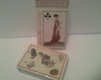 1989 playing cards, still sealed, Victorian design