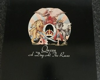Queen Album A Day at the Races great condition original inner sleeve and cover Vinyl music