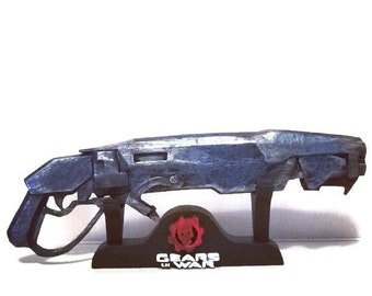 Gnasher Gears of War replica 3D printed 16 cm (6.2 in)
