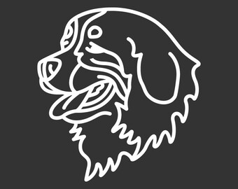 Bernese Mountain Dog Decal GD119