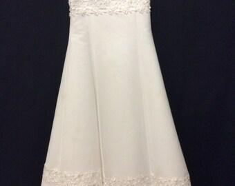 David's Bridal Flower girl's wedding dress