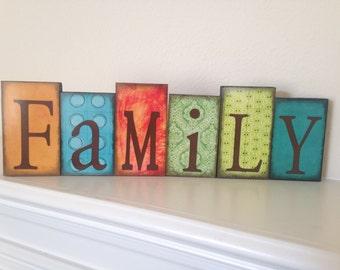 Color Family Blocks
