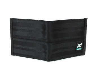 FD Takata Black Wallet Custom Stitched Leather Racing Super Cool