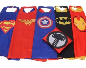 Party pack 18 Super Hero Cape, Adult Super Hero Cape, Super Hero Cape for Adult, Custom Super Hero Cape, Adult Super Hero Party Favor