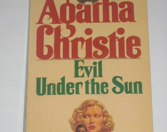 Evil Under the Sun by Agatha Christie mystery paperback classic 1969